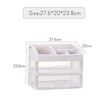 235fc1291bc6 Amazon.com: iHomei Makeup Organizer Drawers Plastic Cosmetic Storage ...