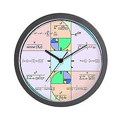 CafePress Golden Ratio Math Clock Unique Decorative 10 Wall Clock