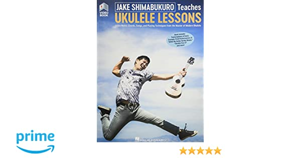 Jake Shimabukuro Teaches Ukulele (Book/Video Online): Amazon.es ...