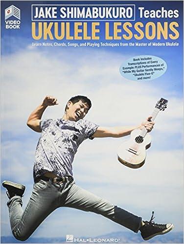 Amazon Jake Shimabukuro Teaches Ukulele Lessons Book With Full