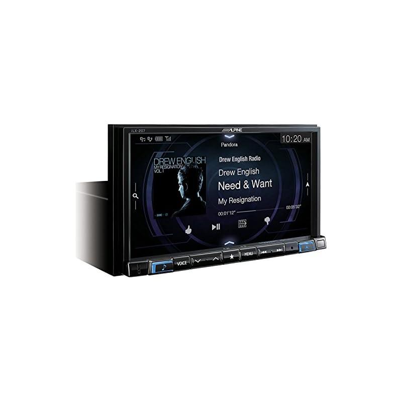 Alpine iLX-207 7-Inch Mech-Less Audio/Vi