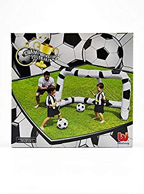 M & M MARS Puerta Fútbol Hinchable cm213 X 122 X H137 ...