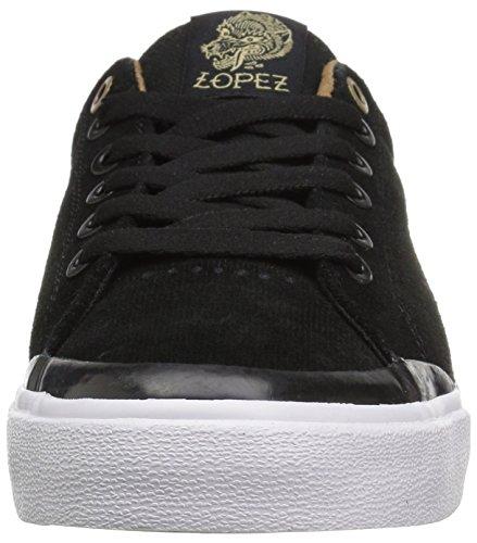 C1RCA Lopez 50r, Scarpe da Ginnastica Unisex-Adulto Black/Gold