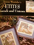 Petites Peacock and Unicorn Counted Cross Stitch Patterns