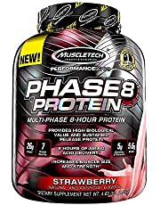 MuscleTech Phase8 Protein Powder, Sustained Release 8-Hour Protein Shake
