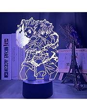 Hunter X H 3D Nachtlampje Anime Lamp 16 Kleur Nachtlampje voor Kid Slaapkamer Decor Verlichting Kind Gift Nachtlampje Anime LED Lamp