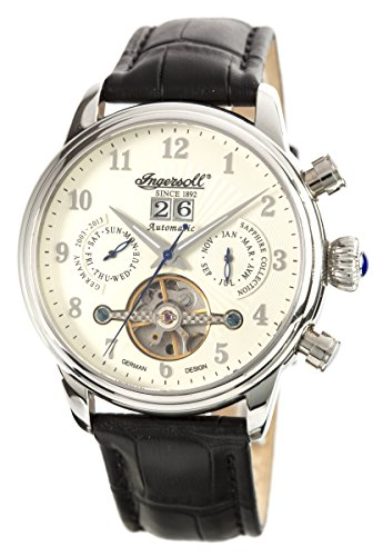 Ingersoll Men's IN1510WH Harvard Analog Display Automatic Self Wind Beige Watch
