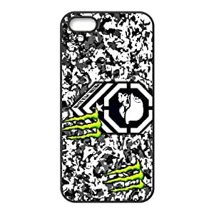 Diy Phone Cover Monster Energy for iPhone 5, 5S WEQ070016