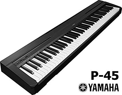 Yamaha P45 Piano digital 88 teclas color negro