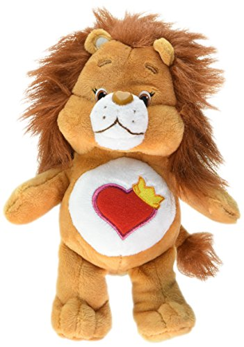 Just Play Care Bear Bean Brave Heart Lion (Heart Care Bear Plush)