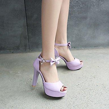 pwne Sandalias Mujer Sandalias Y Zapatos Formales Flip-Flops Polipiel Primavera/Otoño Summerparty/Noche De Fiesta De Cumpleaños Graduación Felicitaciones Purple Us10.5 / Ue42 / Uk8.5 / Cn43 US8 / EU39 / UK6 / CN39