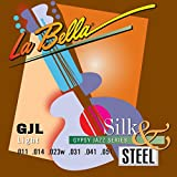 LaBella GJL-LE Gypsy Jazz Silk & Steel - Light Loop-Ends