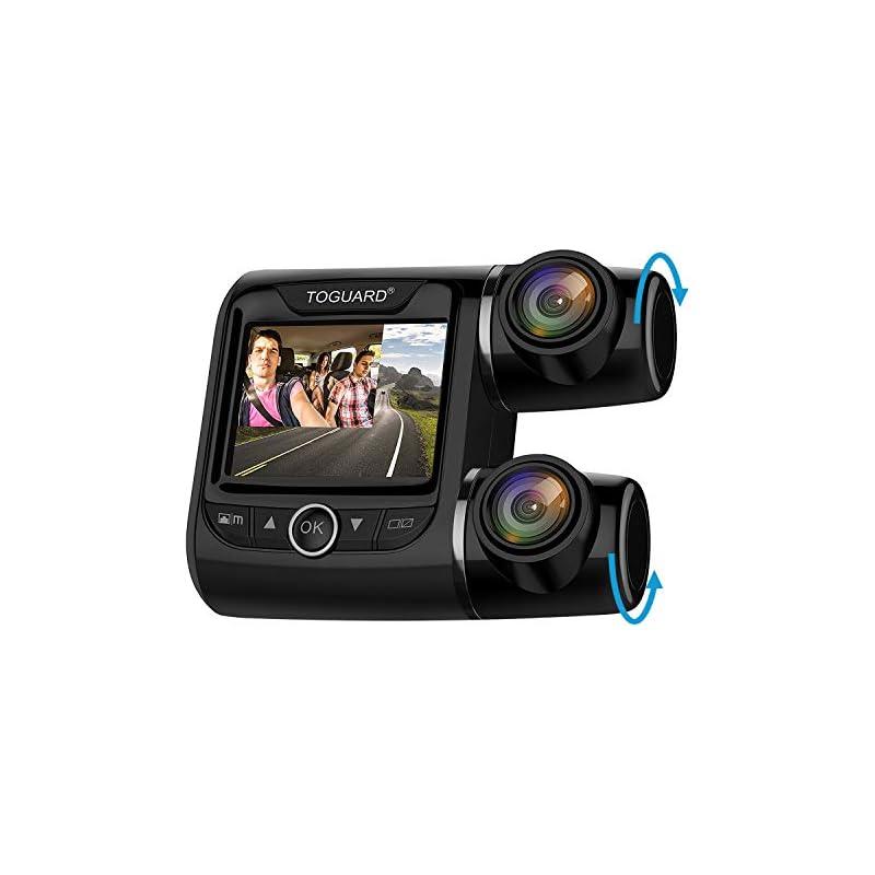 TOGUARD Uber Dual Dash Cam FHD 1080P+108