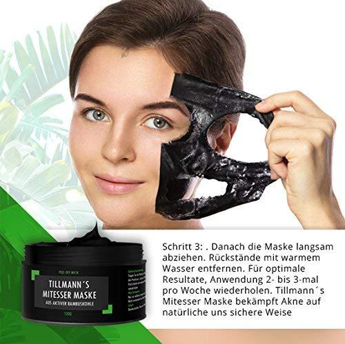 Mitesser Maske Schwarz Mitessermaske Aus Natürlicher Bambuskohle