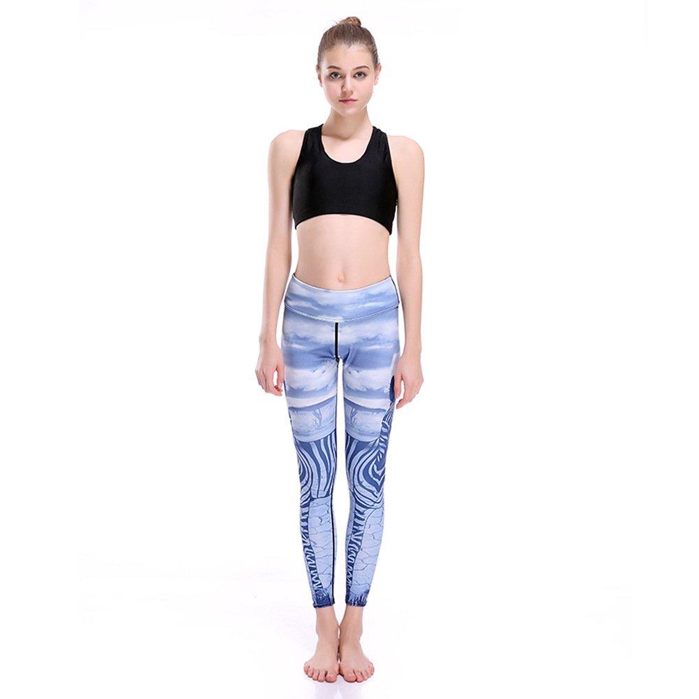Feuchte Yoga Hose