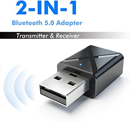 Aesy Transmisores USB Bluetooth 4.2, Receptor Dongle, Plug & Play ...