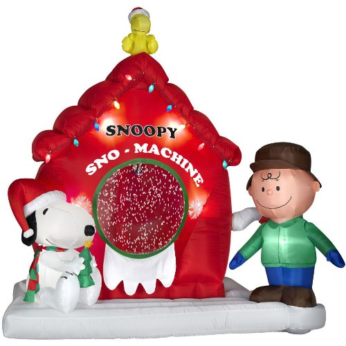 Snoopy Peanuts 7 Ft Airblown
