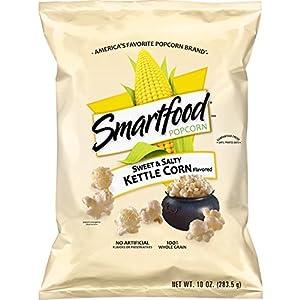 Smartfood Sweet & Salty Kettle Corn Flavored Popcorn, 10 Ounce