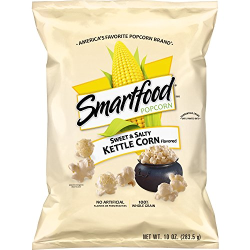 Smartfood Sweet & Salty Kettle Corn Flavored Popcorn, 10 - Kettle Sweet