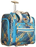 Nicole Miller Taylor Collection 15'' Under Seat Bag (Woven Teal)