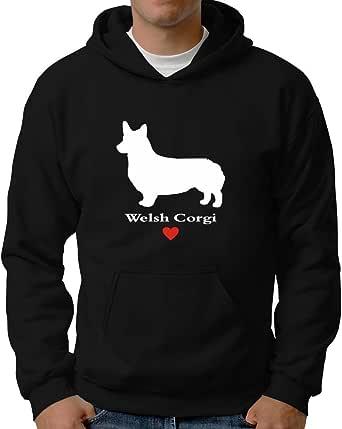 Eddany Welsh Corgi Love Hoodie