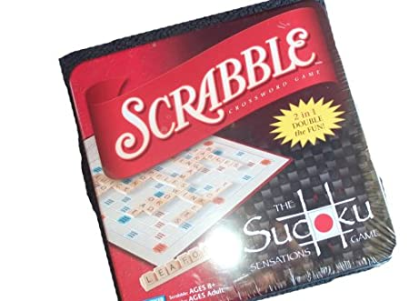 Scrabble 2 in one double fun with Sudoku