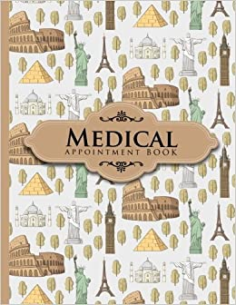 medical appointment book 7 columns appointment organizer client
