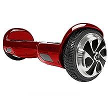 Hoverzon Self Balancing Hoverboard, Garnet