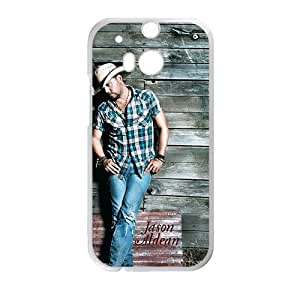 Jason Aldean StylishHigh Quality Comstom Plastic case cover For HTC M8 by mcsharks