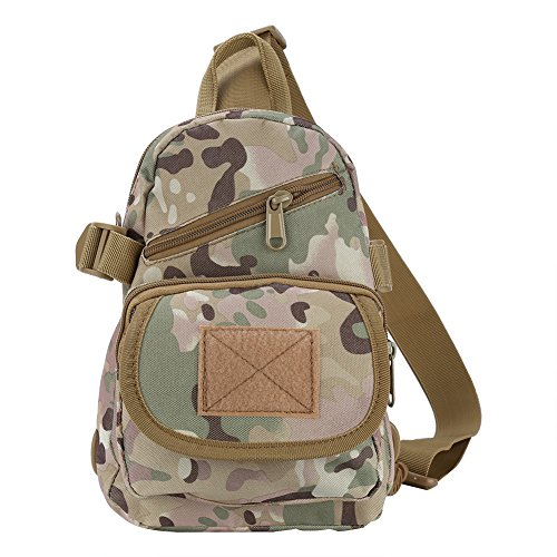 borsa da borsa zaino a in Nero campeggio tessuto Oxford Alomejor viaggio petto escursionismo Outdoor spalla CP unisex 1Oxwqd7dP