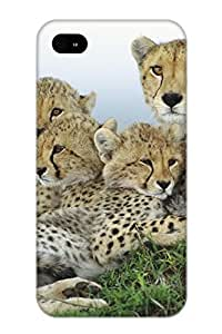 Storydnrmue Perfect Animal Cheetah Case Cover Skin With Appearance For Iphone 4/4s Phone Case
