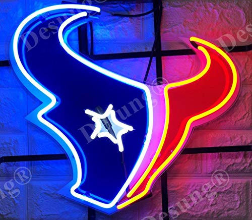 Texans Neon Sign, Houston Texans Neon Sign, Texans Neon
