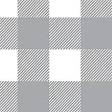Burts Bees Baby - Buffalo Check Fitted Crib Sheet, 100% Organic Crib Sheet for Standard Crib and Toddler Mattresses (Fog)