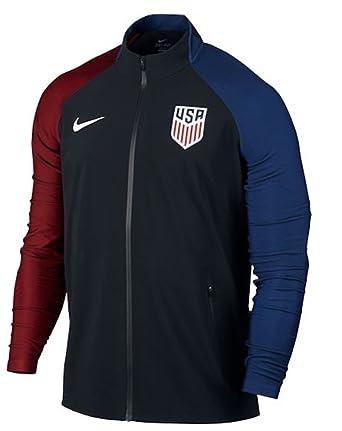 dfe1605af003 Amazon.com  Nike USA Elite Revolution Woven Men s Track Jacket  Clothing