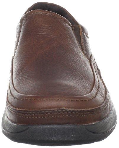 Rockport Barrows Loft Moc Slip On Hommes Marron Chaussures Mocassins EU 40,5