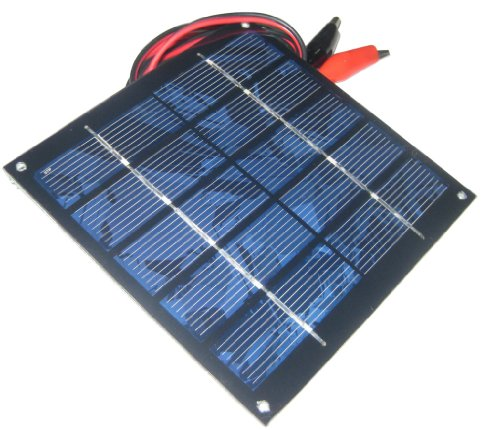Sunnytech 1.25w 5v 250ma Mini Small Solar Panel Module DIY Polysilicon Solar Epoxy Cell Charger (Corner Module Series)