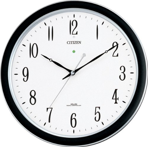CITIZEN(リズム時計) 【屋内用】強化防滴防塵電波時計 ネムリーナM691F 4MY691-N19 B00IFTT0PE