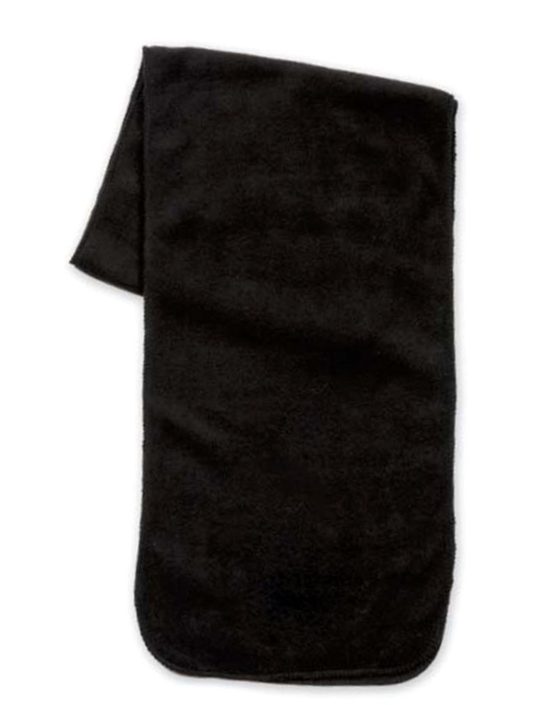 Simplicity Men / Women Winter Anti-Pilling Fleece Neck Scarf, Black