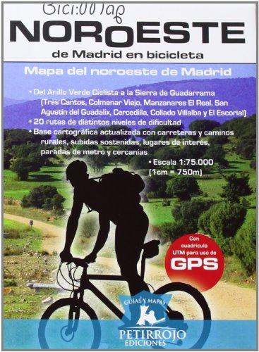 Leer libro noroeste de madrid en bicicleta mapa del for Madrid noroeste