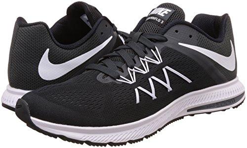 Winflo White anthracite 3 Negro Zoom Black para de NIKE Hombre Running Zapatillas R61aZpqw