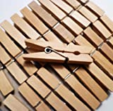 Sturdy Small Craft Clothespins 1 3/4' - 48/pkg