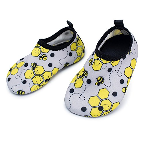 L-RUN Baby Water Shoes Barefoot Skin Aqua Sock Swim Shoes for Beach Swim Pool – DiZiSports Store