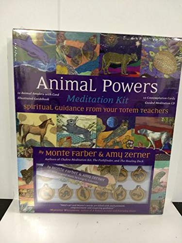 Animal Powers Meditation Kit: Spiritual Guidance From Your Totem Teachers