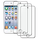 Everydaysource Compatible With Apple iPod Touch 6th Gen Apple iPod Touch 5th Generation 3-Pack Anti-Glare Screen Protector