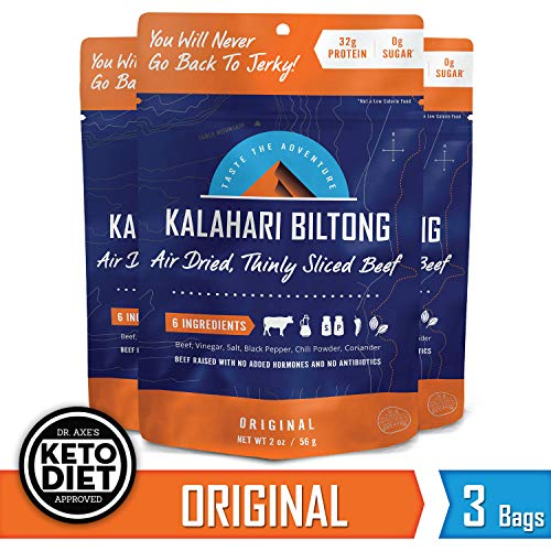 Kalahari Biltong Air Dried Gluten Free Original product image
