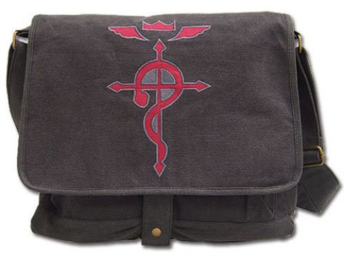 FullMetal Alchemist Brotherhood Flamel Cross Messenger Bag