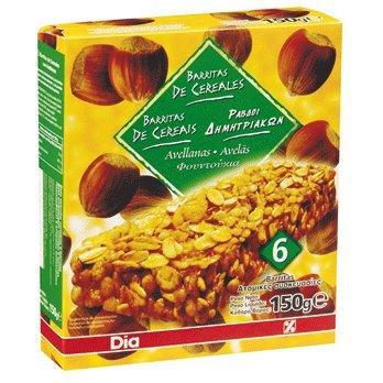 DIA - Barritas De Cereales Muesli Con Avellana Estuche 150 Gr: Amazon.es: Alimentación y bebidas