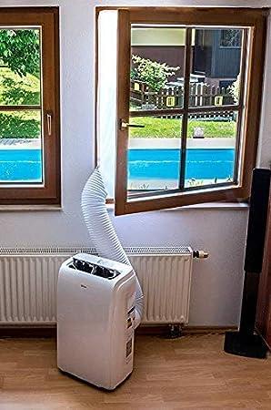 W/äschetrockner Qulista Fensterabdichtung f/ür mobile Klimager/äte Klimaanlagen Hot Air Stop zum Anbringen an Fenster Ablufttrockner Fl/ügelfenster 300cm-400cm Dachfenster