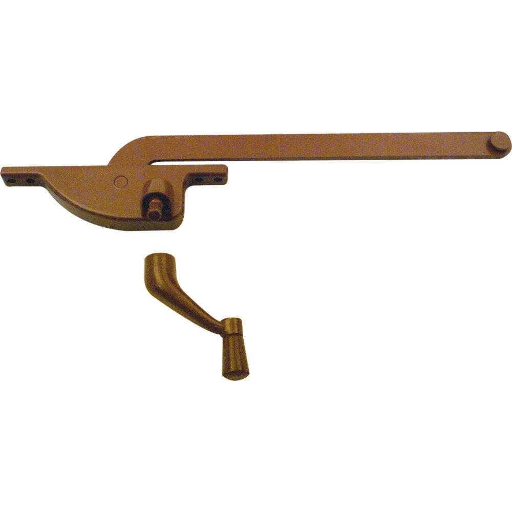 Prime-Line Products H 3504 Casement Operator, 8-Inch Teardrop Type, Left Hand, Bronze