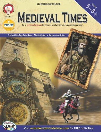 Amazon.com: Medieval Times, Grades 5 - 8 (World History ...